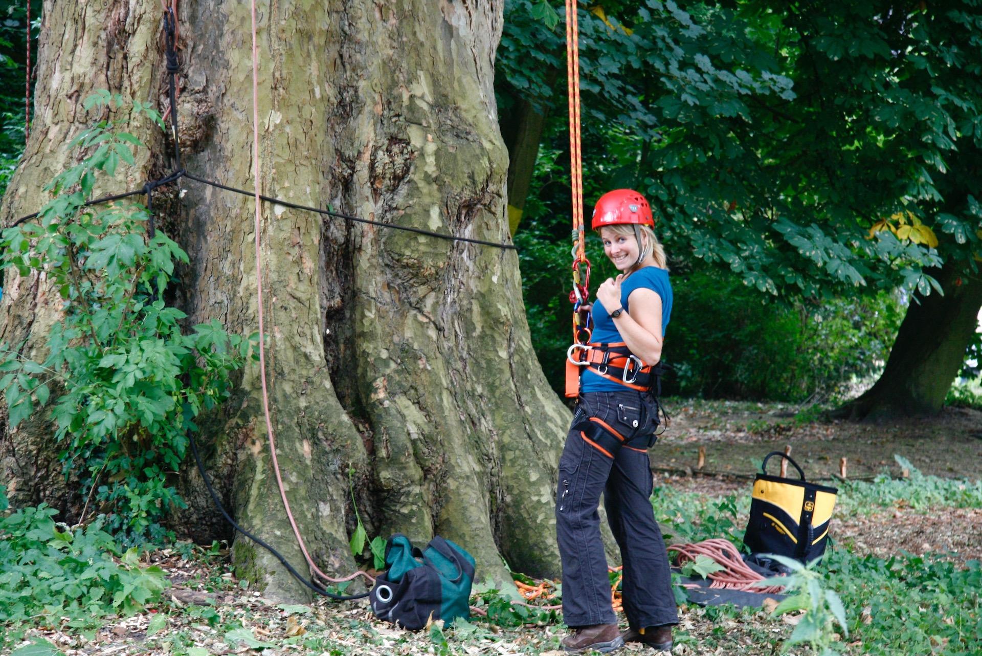 geocachen boomklimmen